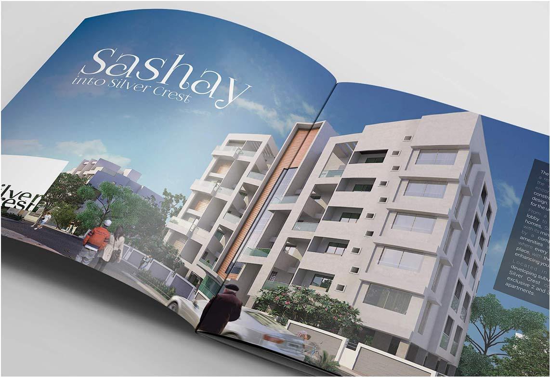 Brochure Design | Logo Design | Avnee Landmarks - Silver Crest | Admonkks Digital Marketing Agency