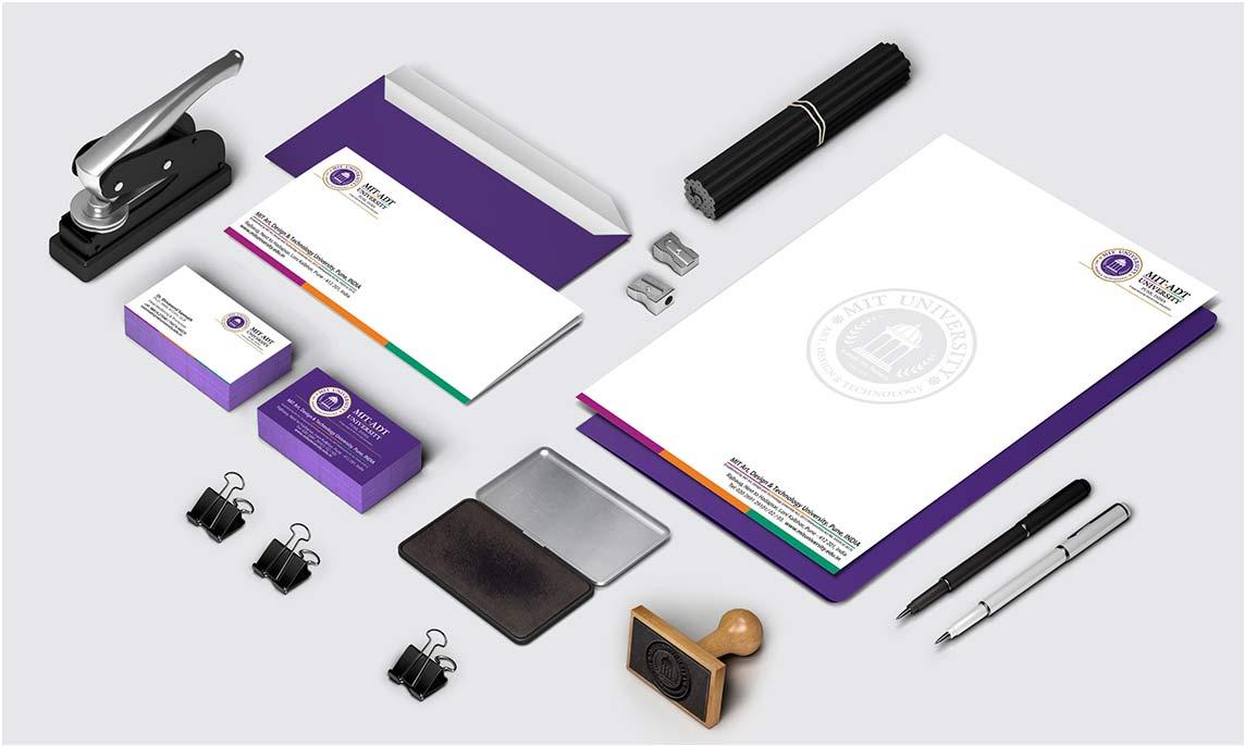 MIT-ADT | Stationery | Logo | Event Design | Hoarding | Identity Card | Made By Admonkks