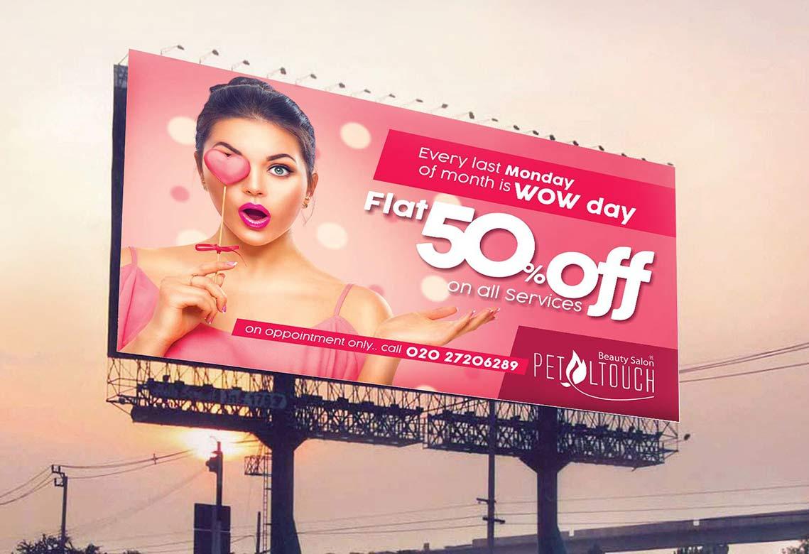Hoarding | Application Design | Website Design | Stationery | Outdoor Advertising | Admonkks Best Advertising Agency
