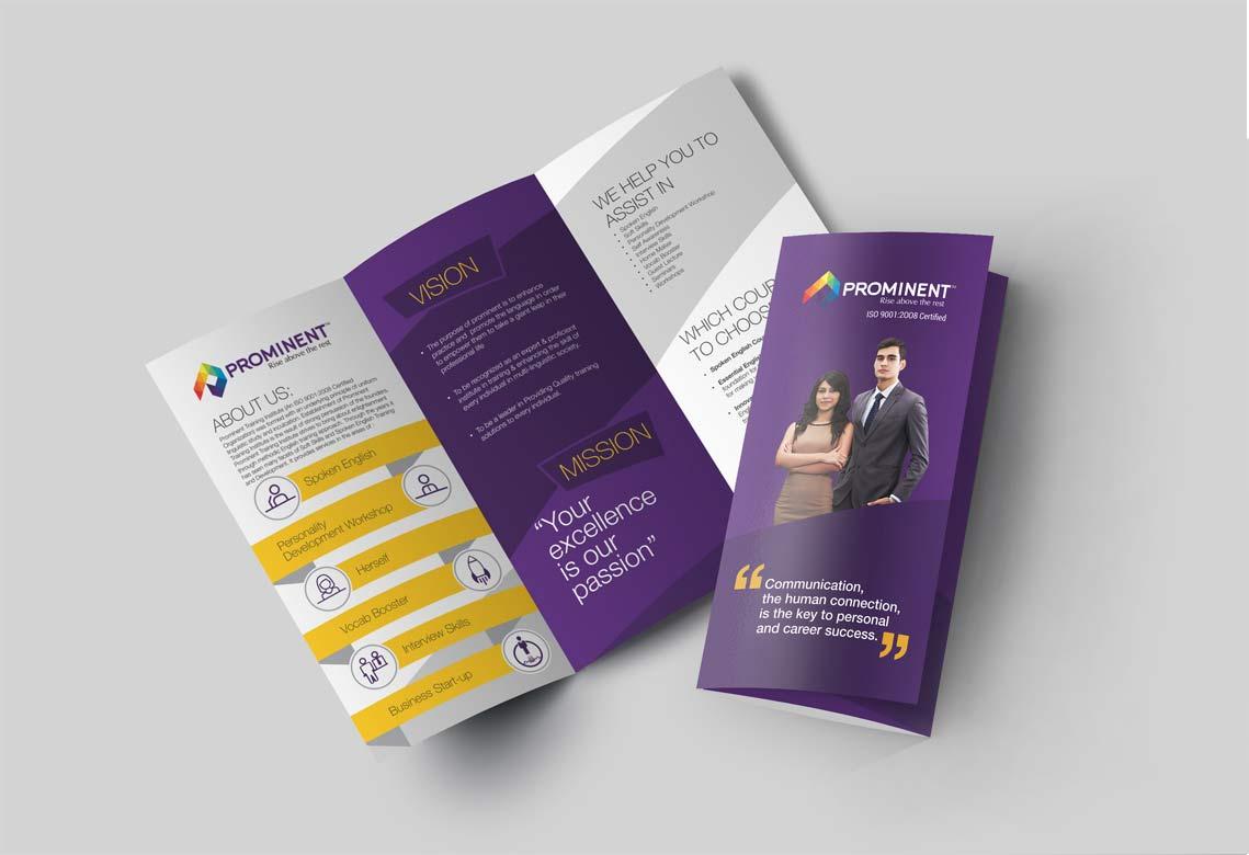 Leaflet Design | Newspaper Advertising | Outdoor Advertising  | Logo Design | Newspaper Advertising | Pole Kiosk | Prominant | Admonkks Media Agency