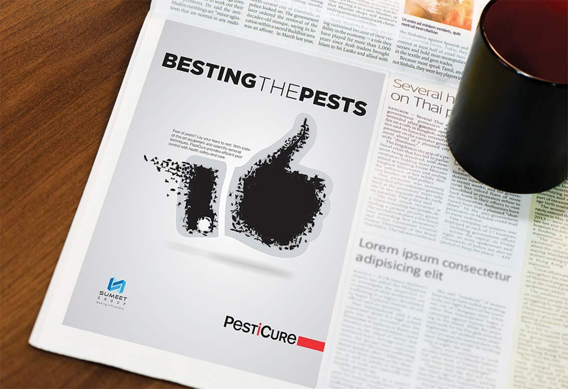 Newspaper Advertising | Website Design | Prospect Design | Leaflet Design | Environment Branding | Logo Design | Sumeet Group | Admonkks Digital Media Agency