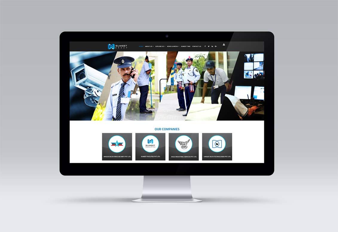 Website Design | Prospect Design | Leaflet Design | Environment Branding | Logo Design | Newspaper Advertising | Sumeet Group | Admonkks Digital Media Agency